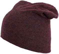 4F czapka męska H4Z17 CAM003 bordowy melanż