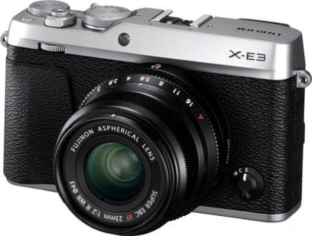 FujiFilm X-E3 + XF 23 Silver