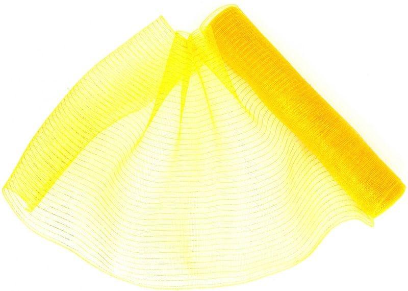 Seizis Dekorační síťka 54 x 914 cm, žlutá