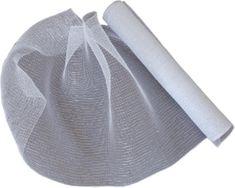 Seizis dekoracyjna siatka 54x914 cm, biało-srebrna
