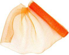 Seizis Dekorační síťka 54 x 914 cm, oranžová