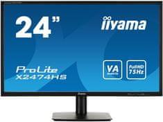 "iiyama ProLite X2474HS-B1, LED monitor 24"""