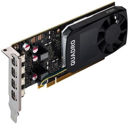 HP grafična kartica NVIDIA Quadro P1000 4GB