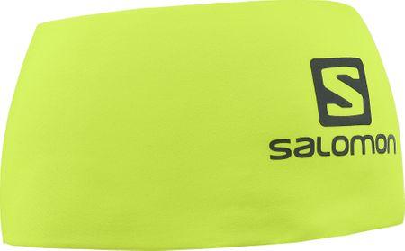 Salomon naglavni trak Rs Pro Headband Acid Lime