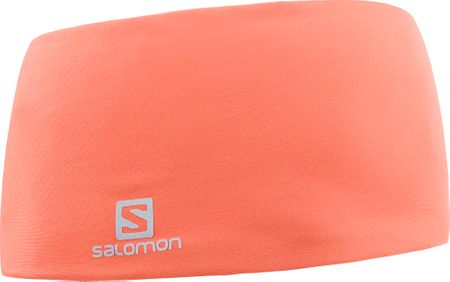 Salomon Opaska na głowę Rs Pro Headband Hot Coral