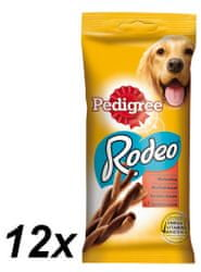 Pedigree Rodeo jutalomfalat, 12 x 122 g