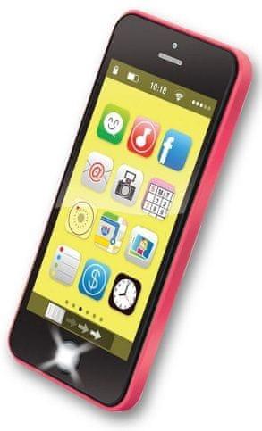 Alltoys Telefon pro nejmenší - červená