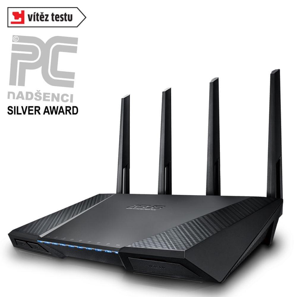 Asus Dvoupásmový gigabitový router RT-AC87U (90IG00W0-BM3G10)