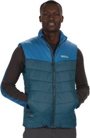 Regatta moški brezrokavnik Icebound B/W II, moder, M