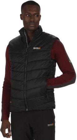 Regatta moški brezrokavnik Icebound B/W II, črn, M