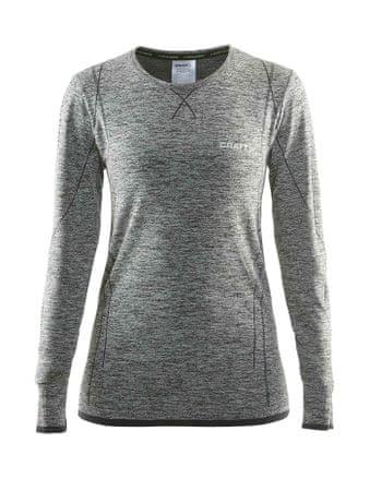 Craft ženska majica Active Comfort RN LS W, temno siva, XS