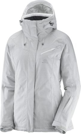 Salomon Fantasy Jkt W Light Grey Heather XL