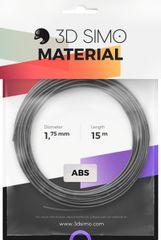 3Dsimo Filament TERMOCHROME - stříbrná 15m