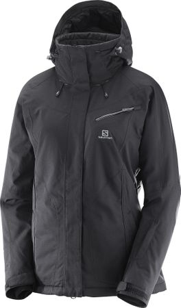Salomon Fantasy Jkt W Black Heather L