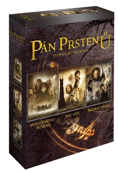 Pán prstenů - Komplet trilogie (6DVD) - DVD