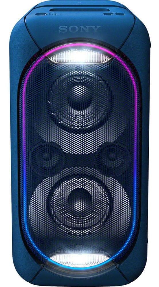 Sony GTK-XB60 přenosný reproduktor, modrá - zánovní