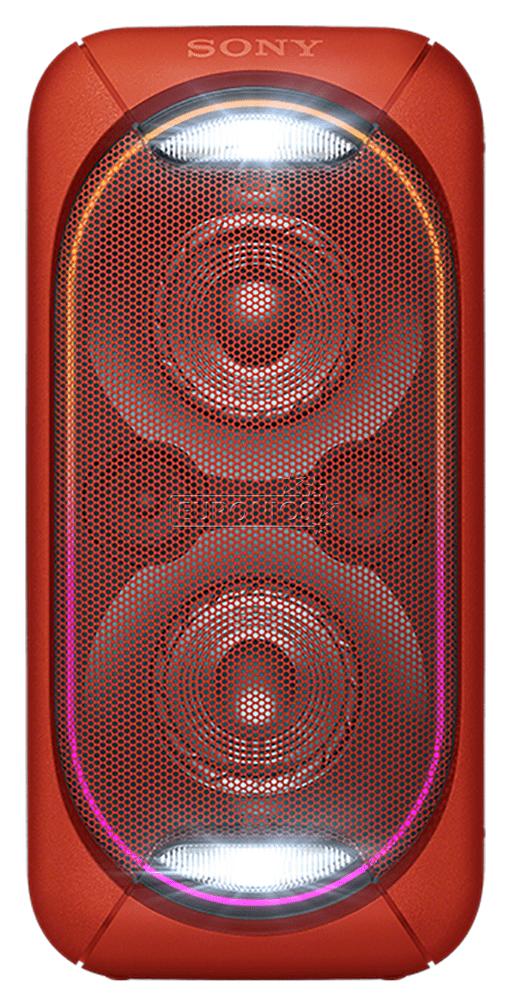 Sony GTK-XB60 přenosný reproduktor, červená