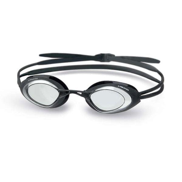 Head Brýle plavecké STEALTH, čirý zorník/černá