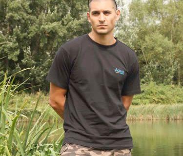AQUA PRODUCTS Aqua Triko Black T Shirt L