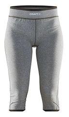Craft 3/4 ženke športne spodnjice Active Comfort sivo/črne
