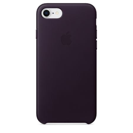 Apple Kožený kryt, Apple iPhone 8/7, MQHD2ZM/A, Dark Aubergine