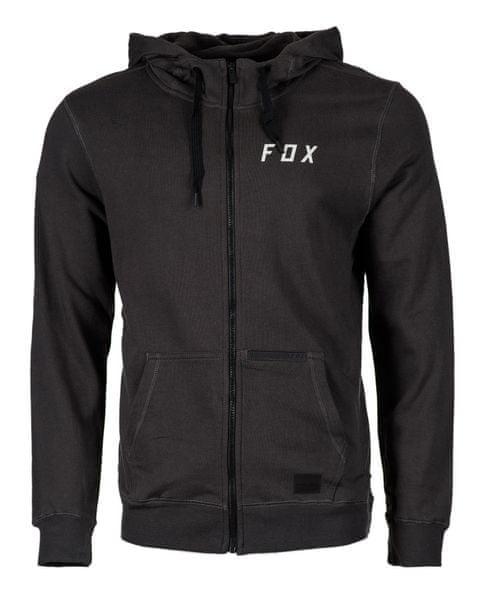 FOX pánská mikina RHODES ZIP M černá