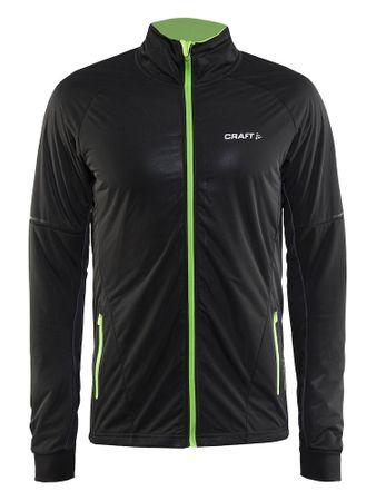 Craft moška jakna za tek na smučeh Storm Jacket 2.0, XS črna