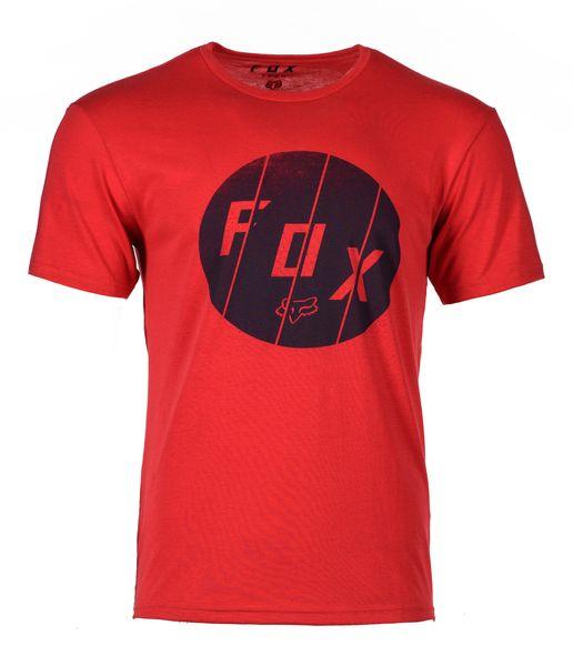 FOX pánské tričko Killshot ss tech L červená