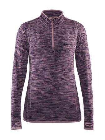 Craft ženska majica Active Comfort Zip, XS roza/vijolična