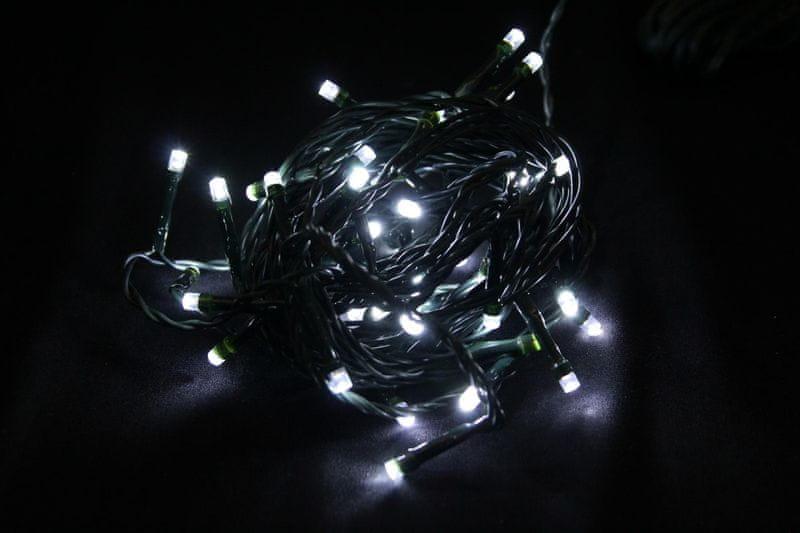 Seizis LED osvětlení 50 žárovek 24V, bílá
