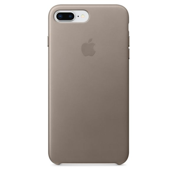 Apple Kožený Kryt, Apple Iphone 8 Plus / 7 Plus, mqhj2zm/A, Taupe