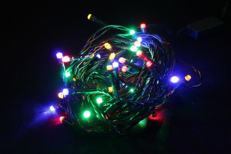 Seizis LED osvětlení 50 žárovek 24V, barevná