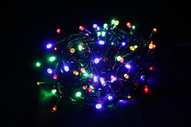 Seizis LED osvětlení 120 žárovek, barevná