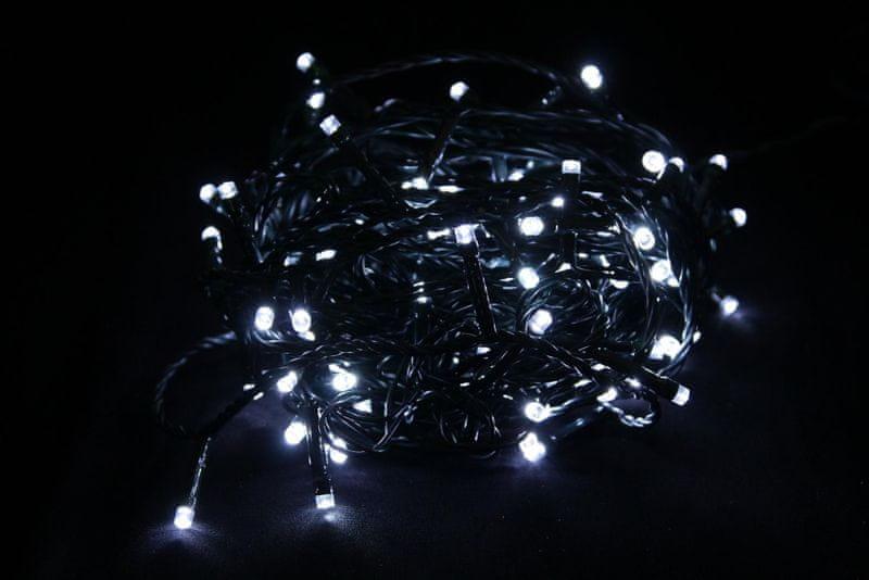Seizis LED osvětlení 120 žárovek 24V, bílá