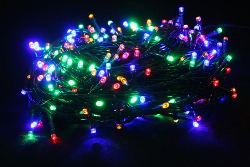 Seizis LED osvětlení 320 žárovek, barevná
