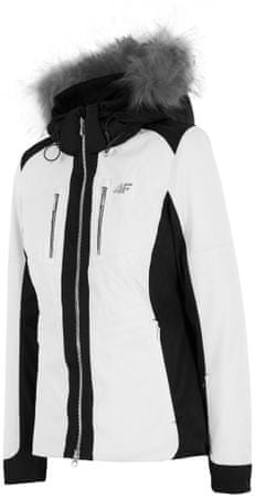 4F damska kurtka narciarska H4Z17 KUDN009 biały M