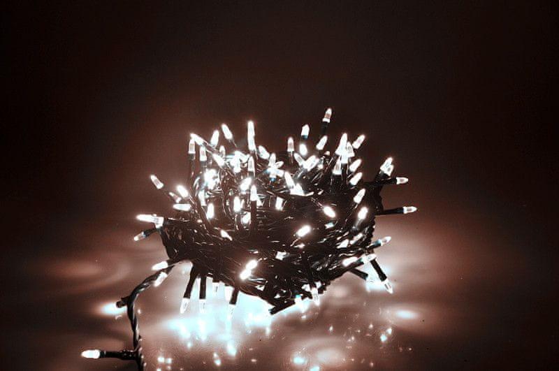 Seizis LED osvětlení 180 nábojových žárovek, bílá