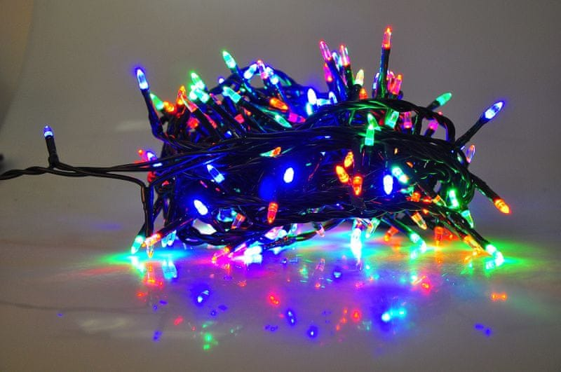 Seizis LED osvětlení 180 nábojových žárovek, barevná