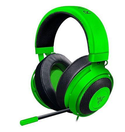 Razer slušalke Kraken PRO V2, zelene, ovalne