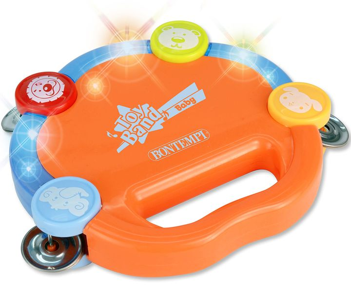 Alltoys Elektronická tamburína s činely