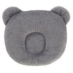 Candide Panda polštářek 21x19cm šedý