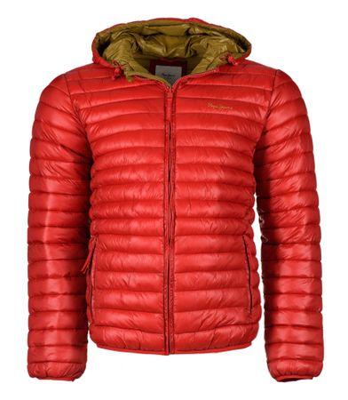 8bbab33365 Pepe Jeans férfi kabát Ons L piros | MALL.HU