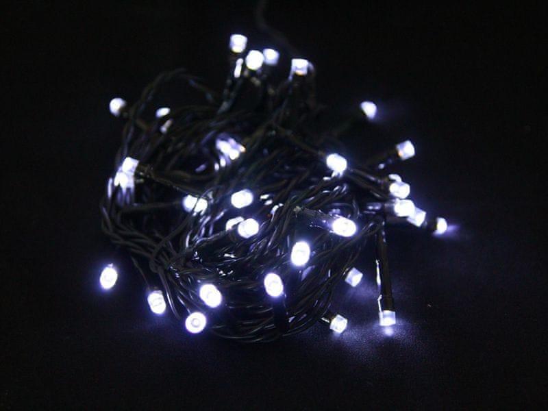 Seizis LED osvětlení s časovačem 40 žárovek, bílá