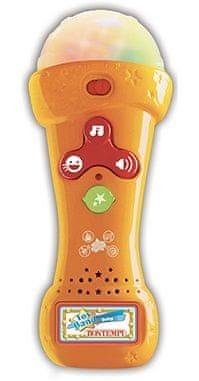 Alltoys Mikrofon karaoke se světlem