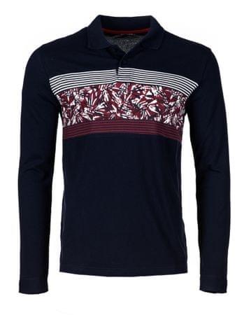 Desigual moška polo majica Tepit L temno modra