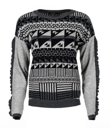 Desigual sweter damski Tormenta L szary