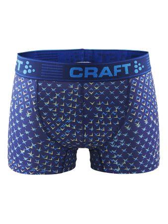Craft moške boksarice Greatness Boxer 3-Inch, XXL, modre