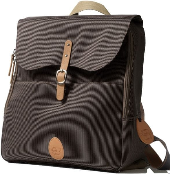 PacaPod HASTINGS - batoh i přebalovací taška černá