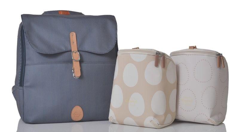 PacaPod HASTINGS - batoh i přebalovací taška navy