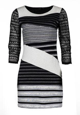 Desigual ženska obleka Irlanda XL črna